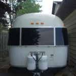 1976 Airstream Middle twin, rear bath Exterior