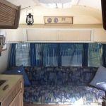 1973 Airstream Land yacht Interior