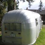 1952 Airstream flying cloud Exterior