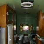 1952 Airstream flying cloud Interior