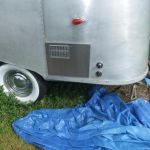1957 Airstream Bubble Customization