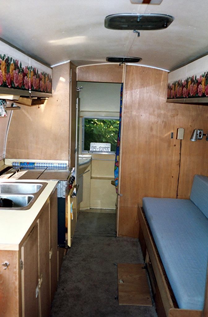 Sparky 1967 airstream safari airstream forums - Airstream replacement interior panels ...