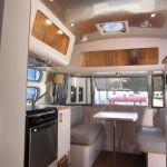 2009 Airstream Bambi International Ocean Breeze Interior