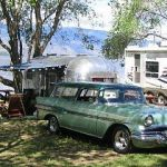 1951 Airstream Flying Cloud S/N 7073 Tow Vehicle