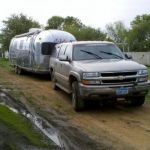 1973 Airstream International Tow Vehicle