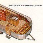 1968 Airstream Trade Wind Interior