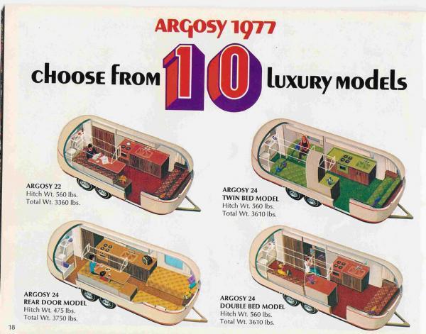 Hound haven 1977 airstream argosy rear door airstream for 1976 airstream floor plans